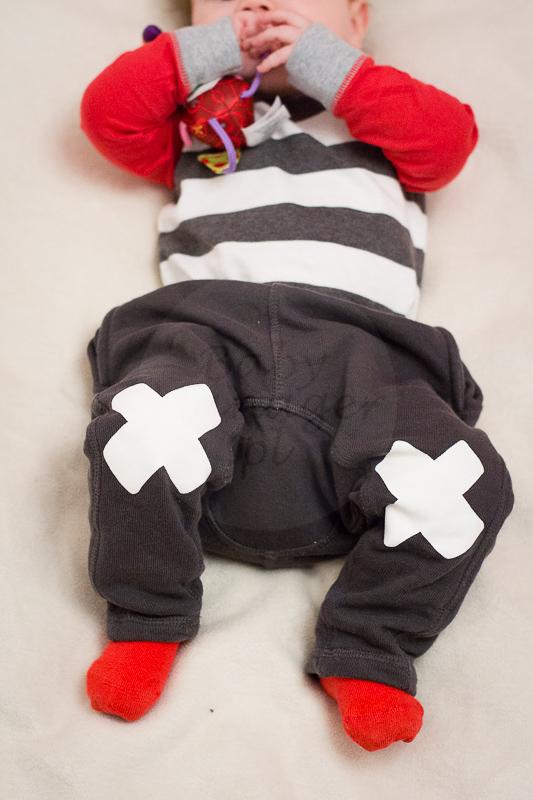 body KappAhl, spodnie Lindex, skarpetki sh
