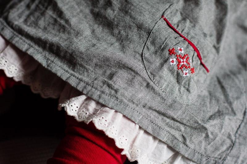 sukienka i rajstopy Lindex