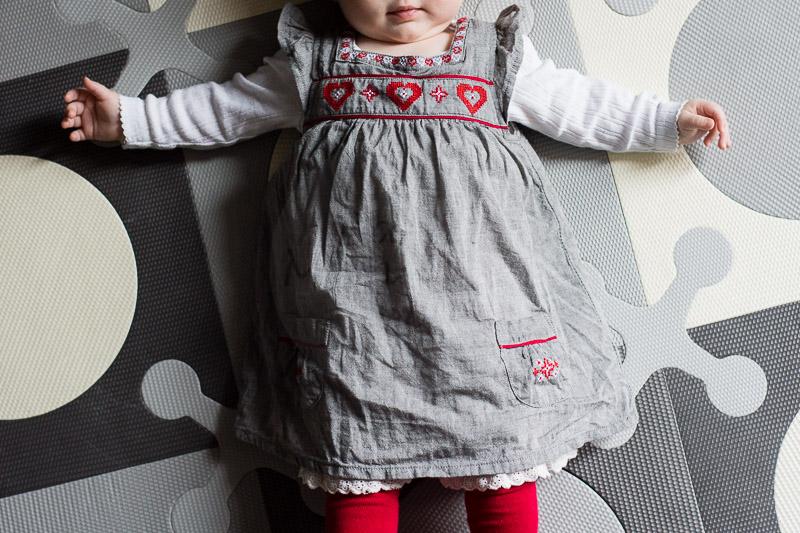 sukienka i rajstopy Lindex, body KappAhl