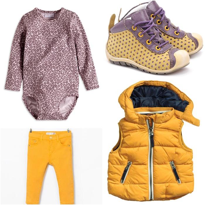 body Lindex, spodnie Zara, kamizelka H&M, buty Emel