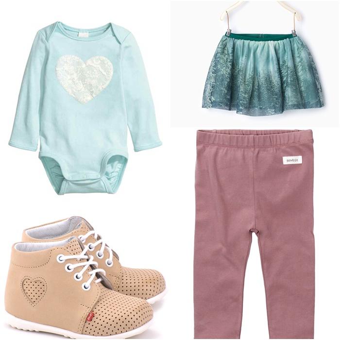 body H&M, spódnica Zara, spodnie Kappahl, buty Emel